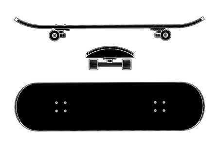 boy skater: Skateboard