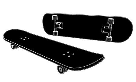 skateboard boy: Skateboard  Illustration