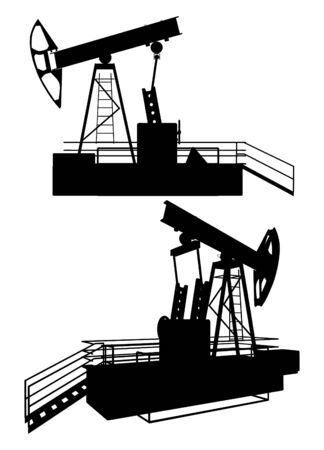 Oil Pump Drill  Stock Vector - 8002400