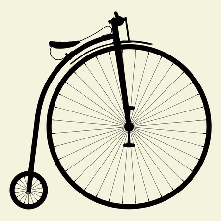 Penny-Farthing Bicycle Stock Vector - 8002358