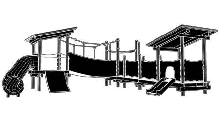 Children Playground Stock Vector - 8002396