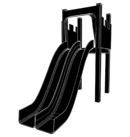 Children Playground Stock Vector - 8002387