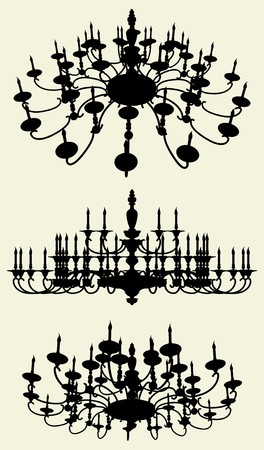 Luster Chandelier Stock Vector - 8002419