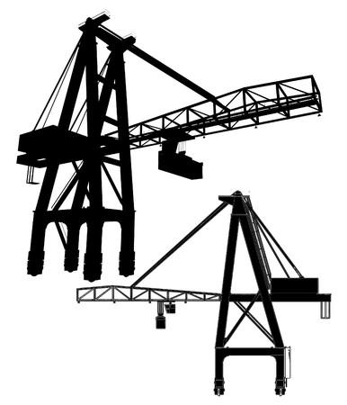 wharf: Gantry Crane