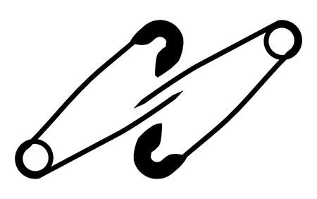 fastening: Metal Safety Pin