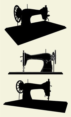 Singer Sewing Machine Vector