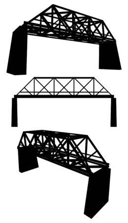 Rail Bridge 矢量图像