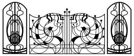 railings: Gate