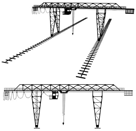 storage container: Gantry Crane