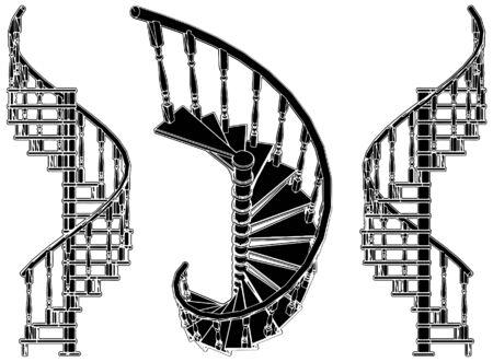 stair: Escalera de caracol