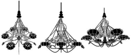 Luster Chandelier Stock Vector - 8069485