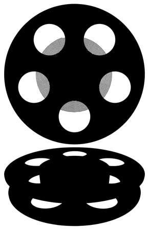 movie film: Film Reel