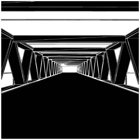 Perspective Of The Passage Stock Vector - 8069497