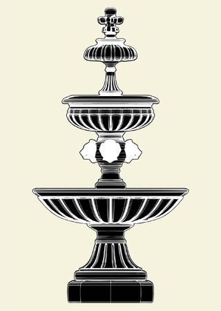 fountain: Fountain Illustration