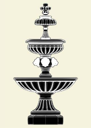 Fountain 矢量图像