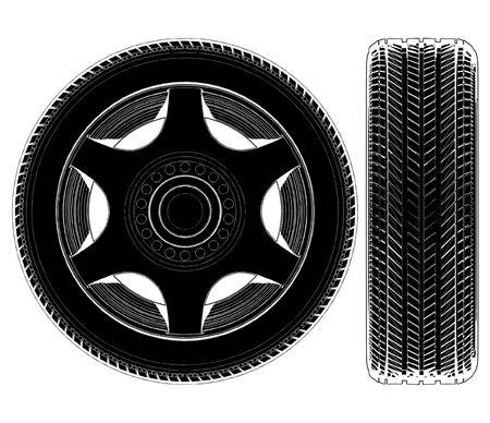 Auto-Rad-Reifen