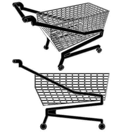 Cart For Shopping Stock Vector - 8069511