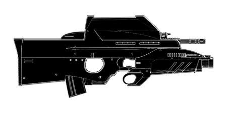 automatic: Automatic Weapon Illustration