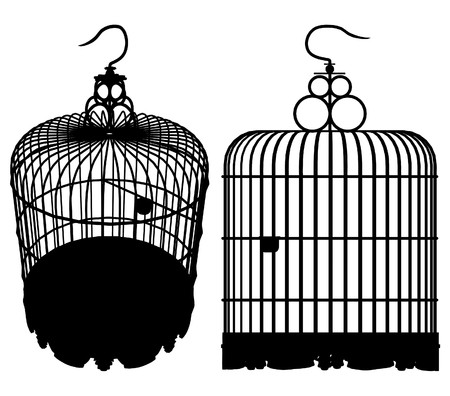 Bird Cage Stock Vector - 8069520