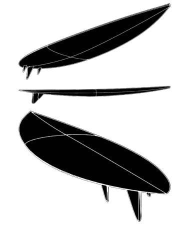Surf Board Vector