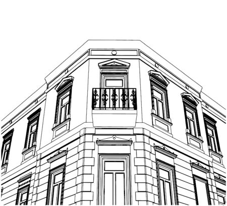 eclectic: Building Corner Eclectic House