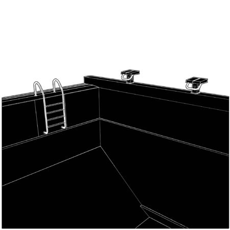 poolside: Swimming Pool Illustration