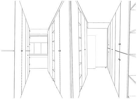 archiv: Interior Archive eingerichtet