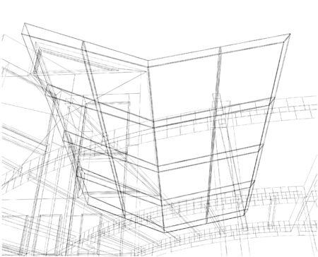Abstrakt Construction Of Line