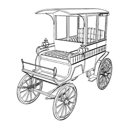 carriage: Vittoriano Cabs carrozza