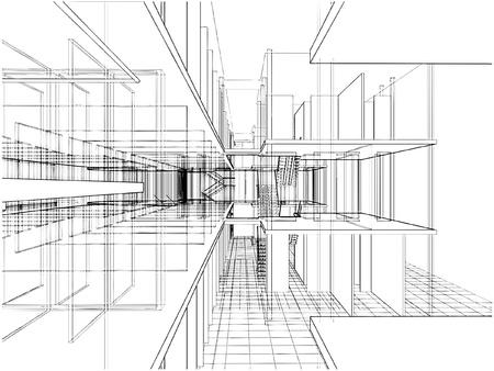 Abstrakt Konstruktionen