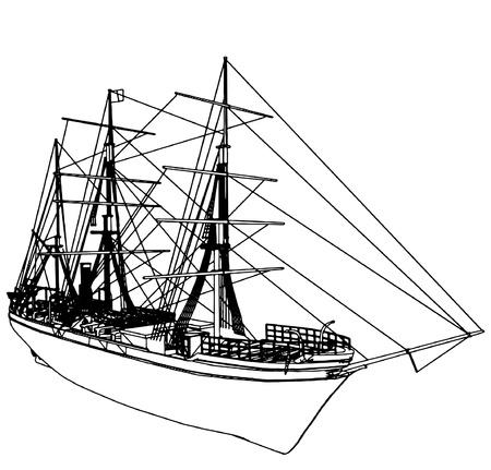 Sailing Ship Stock Vector - 9485928