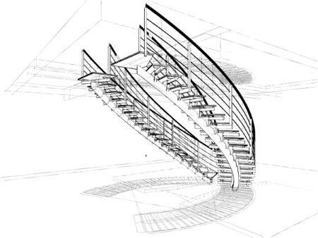 staircases: Abstract Spiral Staircases Constructions Of Lin