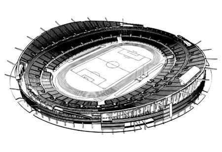 soccer stadium: Estadio de f�tbol Soccer