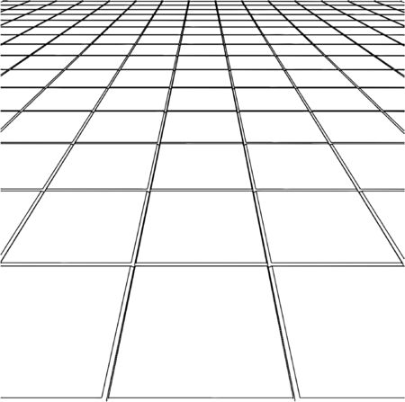 Tile Floor Illustration