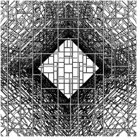 Abstract Ornamental Constructions Vector