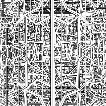 Abstract Ornamental Constructions 矢量图像