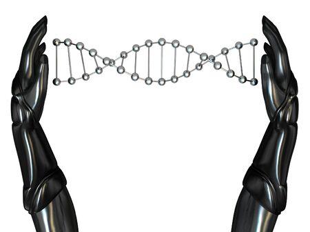 Android H�nden schaffen DNA String