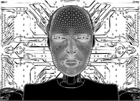 футуристический: Android раскрывает внутренний технологии их электрических цепей
