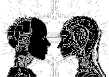cyborg: No coinciden los androides en revelador de su tecnolog�a.