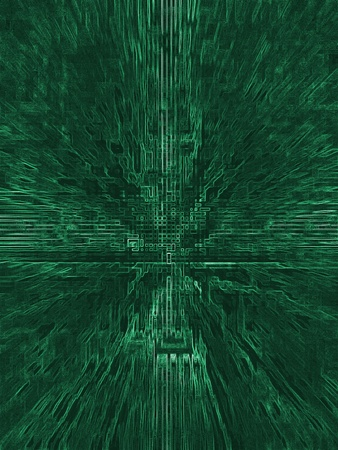 electric green: Abstract Green Electric Circuit Future Technology Stock Photo