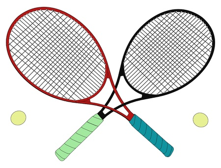 backhand: ennis Rackets Rivals Tied In A Knot