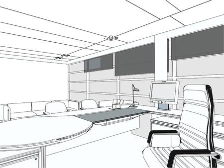 Interieur kantoor Room