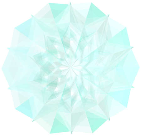 magnificence: Abstract Ornamental Crystal Diamond