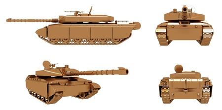 batallón: Tanque de Oro Militar