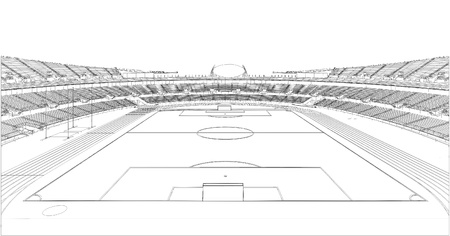 soccer field grass: Football Soccer Stadium