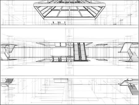 Abstract Construction Vector
