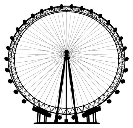 wheel spin: Carousel Silhouette