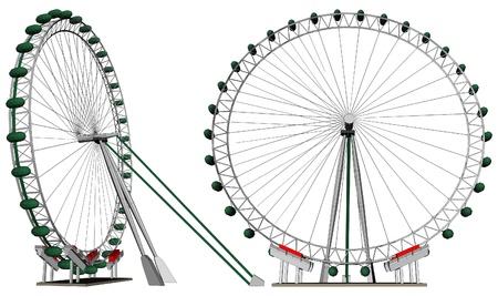 Carousel Stock Vector - 13261449