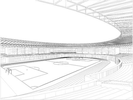 Fu�ball-Fu�ball-Stadion