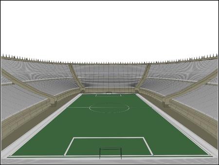 sports venue: F�tbol estadio de f�tbol Vectores